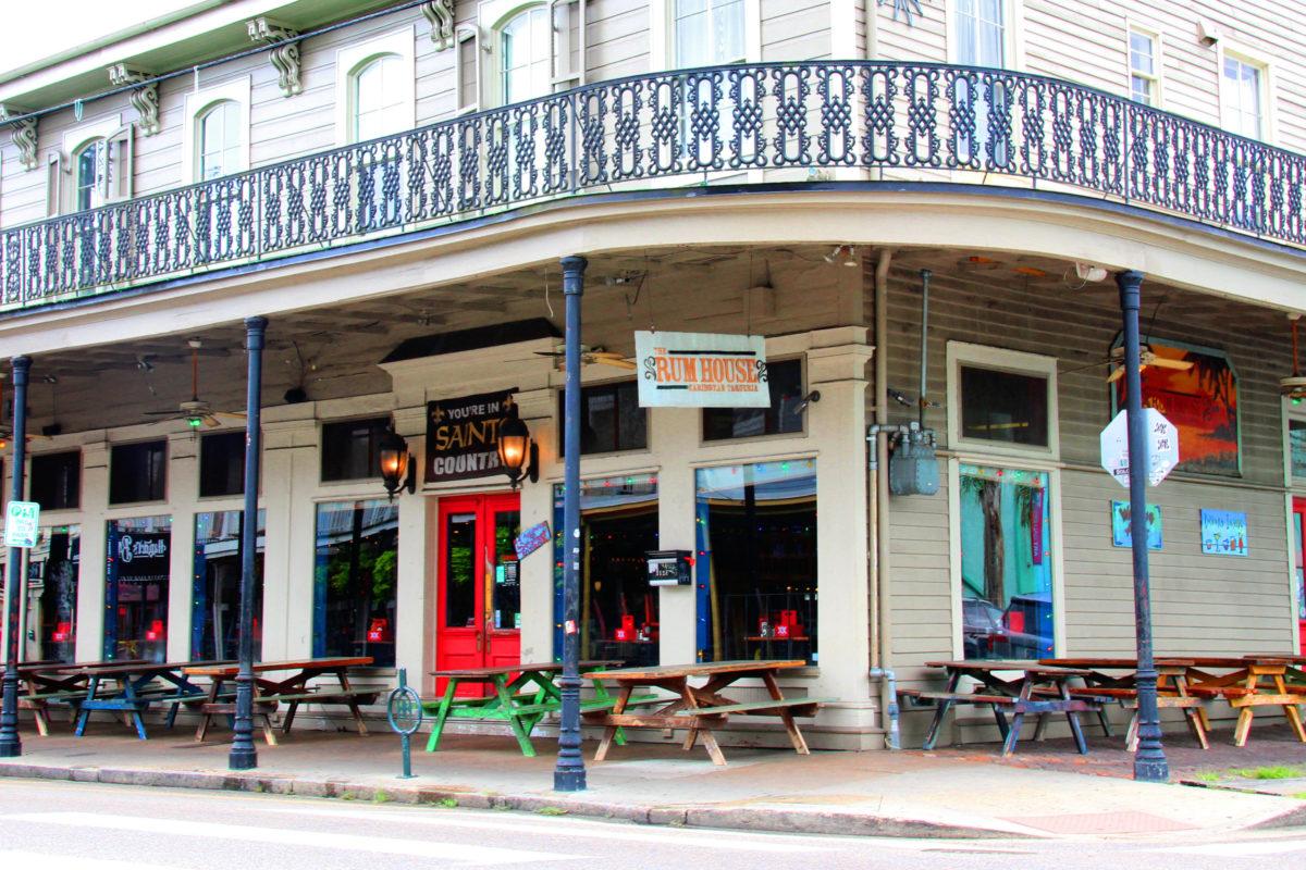 New Orleans The Rum House Caribbean Taqueria